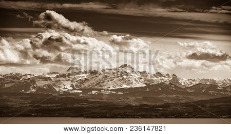 In Spring And Summer There Is An Air Movement From South To North Over The Alps Wich Leads To Specta