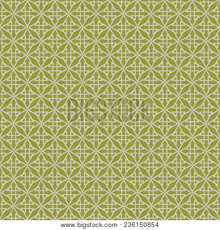 Grey And Green Tile Vector Pattern Or Seamless Background Wallpaper