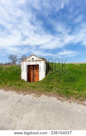 Old Wine Cellar In Lower Austria, Austria