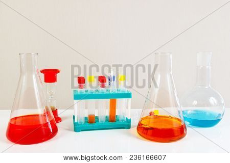 Equipment For Biochemical Analyzes On The Laboratory Table