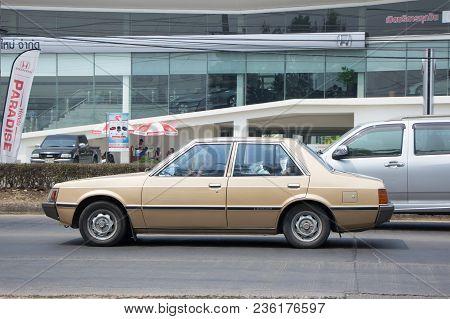 Old Private Car, Mitsubishi Lancer