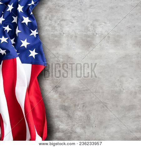 American Flag For Memorial Day, 4th Of July Or Labour Day
