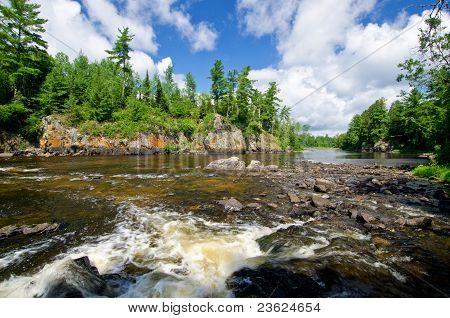 Pipestone Falls, Bwcaw, Minnesota