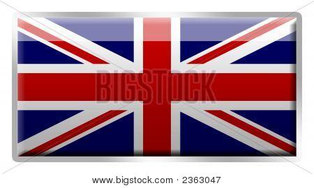 British Union Jack Enamelled Metal Badge
