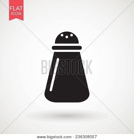 Salt And Pepper Shakers Icon, Outline And Filled Vector Sign, Linear And Full Pictogram Isolated On