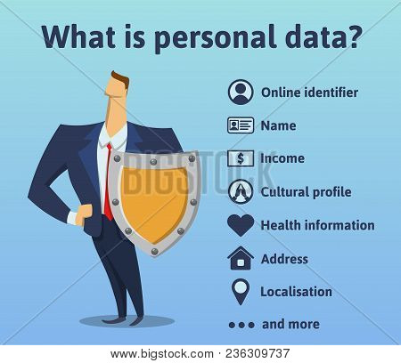 What Is Personal Data. What Information Is Under The Protection Of The Rules Of The Gdpr. General Da