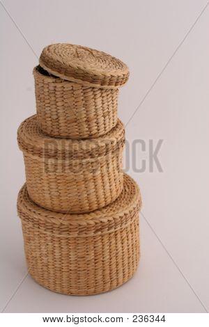 Straw Basket Tower