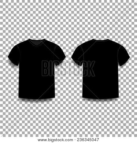 Black Men\'s T-shirt Vector & Photo (Free Trial) | Bigstock