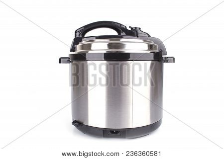 Electric Pressure Cooker Isolated On White Background