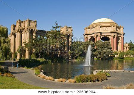 Palace of fine arts, San Francisco, California, USA