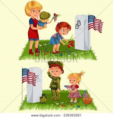 Memorial Day, Mother Vector & Photo (Free Trial) | Bigstock