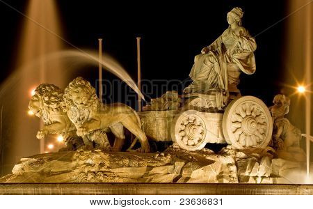 Cibeles at Night