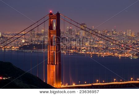 Golden Gate at Dusk 01