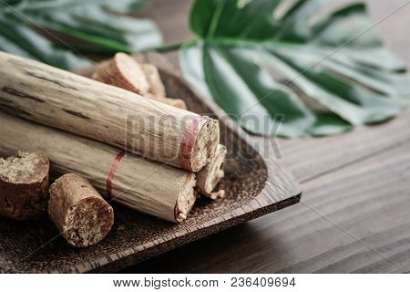 Bendi - Coconut With Sugar Wrapped In Banana Leaf