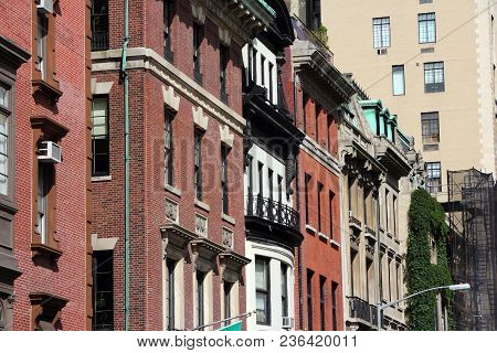 New York East 67th Street - Typical View Of Upper East Side.