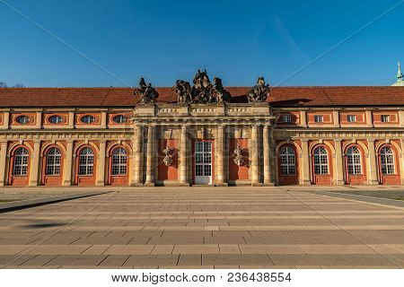 The Film Museum In Potsdam Called Marstall