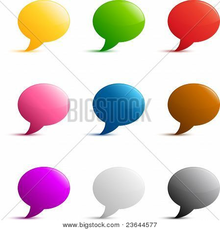 Speech Message Icons