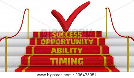 Timing, Ability, Opportunity, Success. Business Strategy: Timing, Abiblity, Opportunity, Success. St