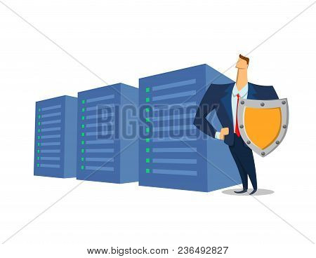Gdpr, Rgpd, Dsgvo Concept Illustration. General Data Protection Regulation. The Protection Of Person