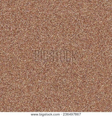 Seamless Tileable Texture Of Decorative Wall Coating Covered With Small Brown And White Stones.