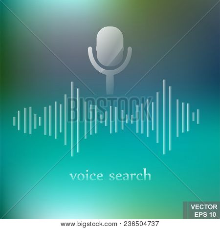 Voice Search. Modern Technologies. Recognition. Background. For Your Design.