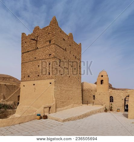 Small Fort And Tower At The Monastery Of Saint Paul The Anchorite (aka Monastery Of The Tigers), Dat