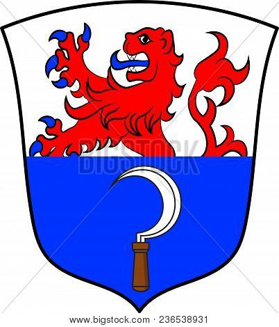 Coat Of Arms Of Remscheid Is A City In North Rhine-westphalia, Germany. Vector Illustration