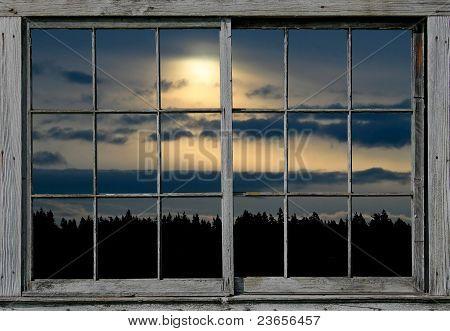 Sunrise Through the Window