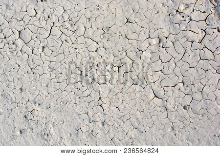 Crack Concrete Textured As An Abstract Grunge Background