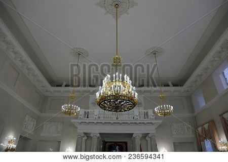 Inside The Building Of The Moscow City Hall, Russia