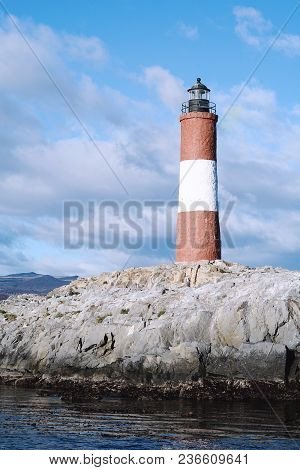 Lighthouse In Beagle Channel.