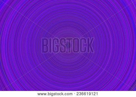 Abstract Geometric Background With Concentric Circles. Different Shades Of Purple