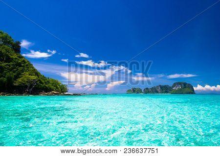 Desert Island Exotic Getaway