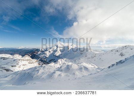 Beautiful Mountains Ski Resort Vogel In Slovenian Alps