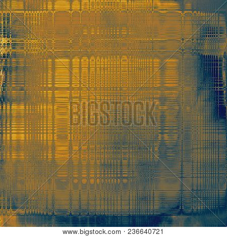 Creative elegant design used as retro background for your art project. With grunge texture and different color patterns