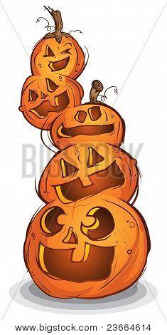 Pile Of Pumpkins