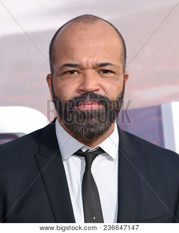LOS ANGELES - APR 16:  Jeffrey Wright arrives for HBO's