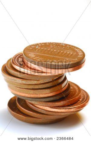 Moedas de um centavo
