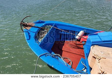 Prow Is Traditionally A Portuguese Fishing Boat With An Anchor
