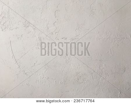 Cement White Wall Texture Background And Space