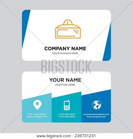 Vr Glasses Business Card Design Template, Visiting For Your Company, Modern Creative And Clean Ident