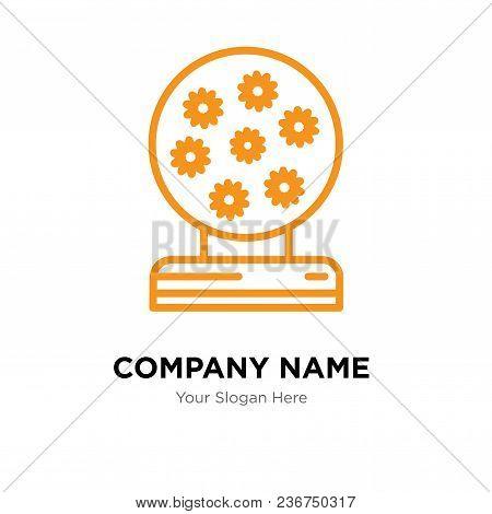 Magic Ball Company Logo Design Template, Business Corporate Vector Icon