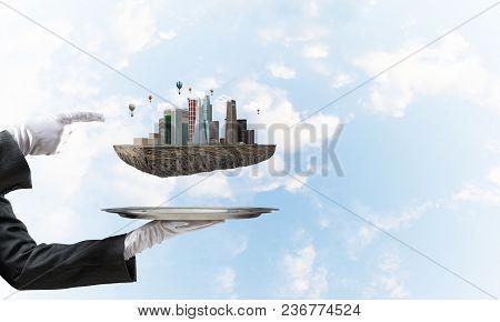 Concept Of Modern Urban Development.