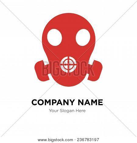 Respirator Company Logo Design Template, Business Corporate Vector Icon