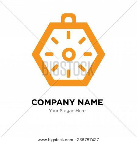 Localization Orientation Tool Of Compass With Cardinal Points Company Logo Design Template, Business