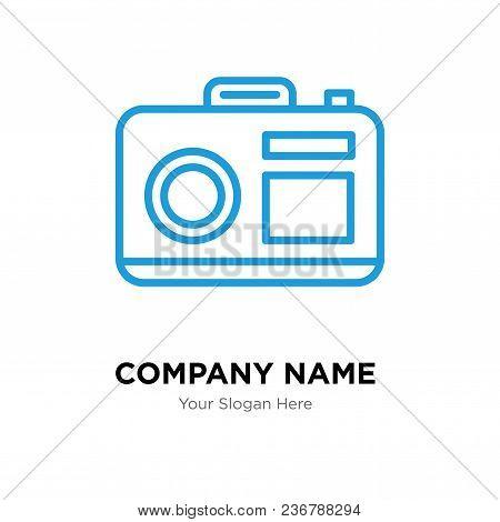 Camera Company Logo Design Template, Business Corporate Vector Icon