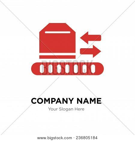 Logistics Package Company Logo Design Template, Business Corporate Vector Icon