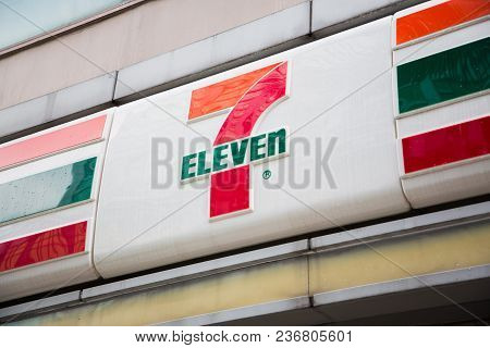 Shenzhen, China - June 24, 2016: Seven-eleven Is The Largest Convenience Store Chain In The World Ov