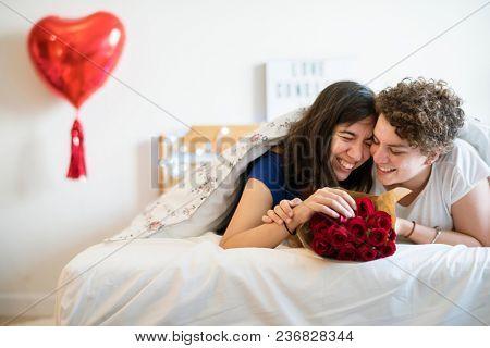 Lesbian couple lifestyle