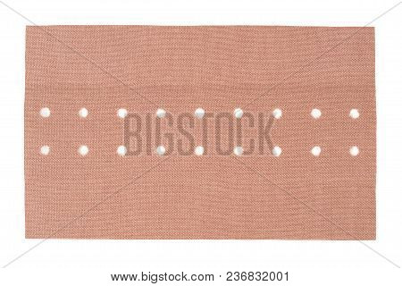 Big Adhesive Bandage Isolated On White Background